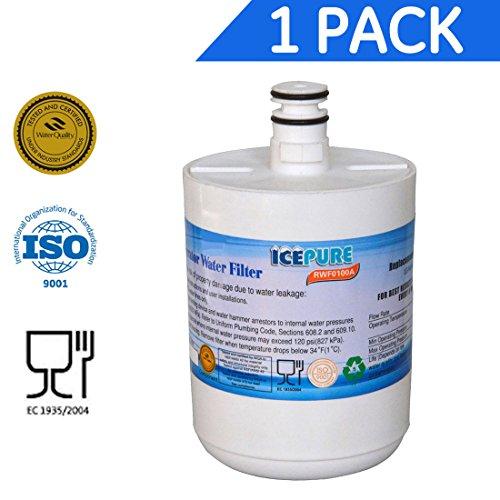 La promoción del Año Nuevo Icepure RFC0100A Nevera Filtro de agua Compatible con LG LT500P, 5231JA2002A
