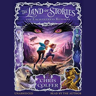 The Land of Stories: The Enchantress Returns                   Written by:                                                                                                                                 Chris Colfer                               Narrated by:                                                                                                                                 Chris Colfer                      Length: 11 hrs and 8 mins     27 ratings     Overall 4.8