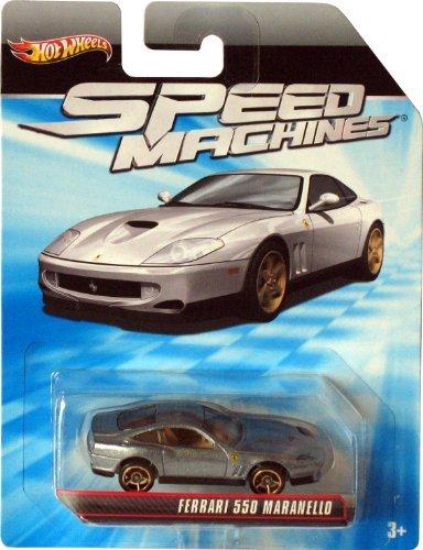 Hot Wheels Speed Machines 1:64 Die-cast - FERRARI 550 MARANELLO (OH5 Wheels) by Hot Wheels