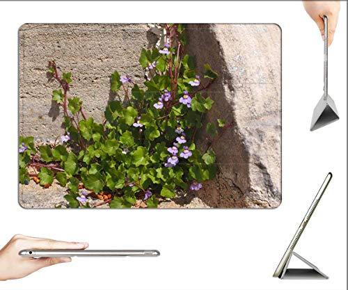 Case for iPad Mini 5 & Mini 4 - Dulcimer Herb Blossom Bloom Blue Violet Purple 1