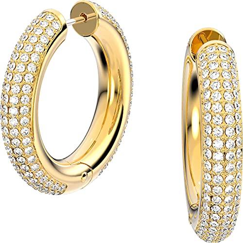 Swarovski - Pendientes de aro Colre de oro amarillo 5618305