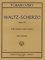チャイコフスキー: ワルツ・スケルツォ Op.34/ギンゴールド編/インターナショナル・ミュージック社/ピアノ伴奏付バイオリン・ソロ楽譜