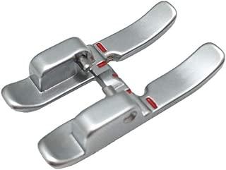 YEQIN Pfaff 6 mm Open Toe Satin Stitch Metal Applique Foot #93-036931-91
