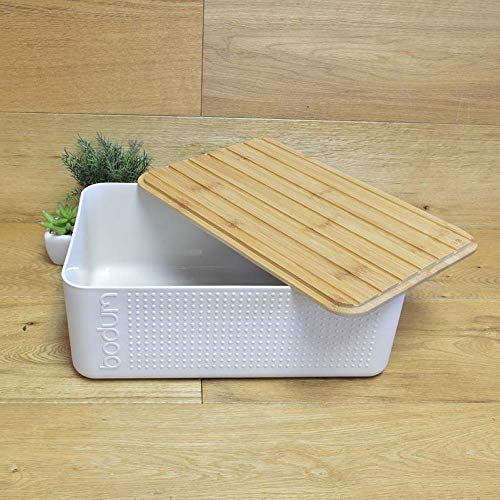 Bodum Bistro Bread Box, White