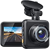 Dash Cam for Cars 1080P Mini Dash Cam Car Security Camera with Night Vision, 170° Wide Angle, Motion Detection, Parking Monitoring, G-Sensor, Loop Recording, Support Micro 128GB Max