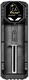 電子タバコ バッテリー アクセサリー USB リチウムイオン CYLAID I1 battery charger バッテリー チャージャー 18650 20700 規格対応 充電器 18650 20700 21700 シングルスロット Li コンパクト 簡単充電 正規品