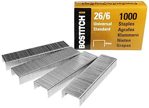Bostitch 5000 Heftklammern, B440SB / B440LR / B650 / B3000 / B3100 / B5000, Klammerstärke 12 x 6 mm, 26-06-5MGAL