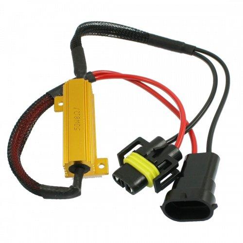 TMT LEDs (TM) Kit Canbus Erreur commande voiture 2 résistances ou h8 h11 Warning Cancellers plug & play