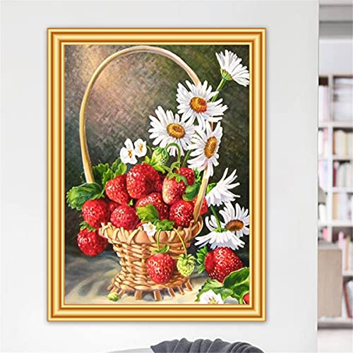 Lesign Diy 5d Diamond Painting Flower Flower Cross Stitch Kits Taladro Completo Bordado Mosaic Arte Imagen De Rhinestones Decoración De Regalo 60x90cm NoFramed