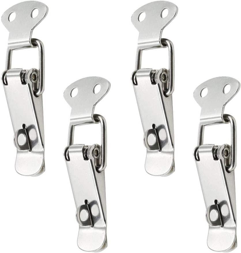 BTMB 8pcs Stainless Steel Spring Super popular specialty store Be super welcome Loaded Ch Box Trunk Case Toggle