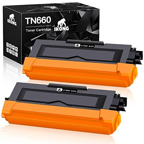 IKONG Compatible Toner Cartridge Replacement for Brother TN630 TN660 TN-660 TN-630 use with HL-L2300D HL-L2360DW HL-L2320D DCP-L2520DW DCP-L2540DW MFC-L2707DW MFC-L2700DW Printer