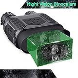 暗視スコープ 赤外線望遠鏡 暗視カメラ デジカメ暗視鏡 ナイトビジョン 暗視双眼鏡 400m / 1300ft 7倍の倍率 640x480p HD 日本語説明書付き