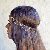 Yean cabeza cadena accesorios para el pelo para las mujeres y las niñas