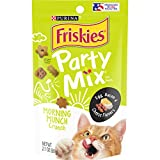 Purina Friskies Party Mix Cat Treats, Egg, Bacon & Cheese, 2.1 Ounce (Pack of 10)