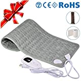 "Bernuly Electric Heating Pad, 12""x24"" Super Soft Material Fast-Heating for Neck Shoulder"