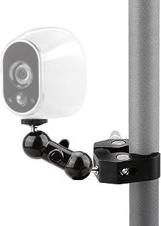 Arlo Clamp Mount,5.5 Inch Articulating Arm Clip Holder Stand for NetGear Arlo,Arlo pro,Arlo go,Arlo pro 2 Security camera