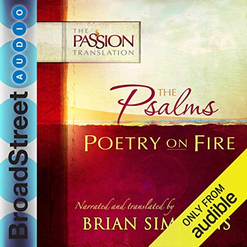 The Psalms: Poetry on Fire audiobook cover art