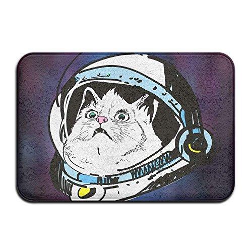 Klotr Tapis De Bain, Grumpy Cat Doormat Indoor Outdoor Doormats Super Absorbs Mud Dirt Easy Clean Cute Cat Floor Rug Door Mats 15.7\