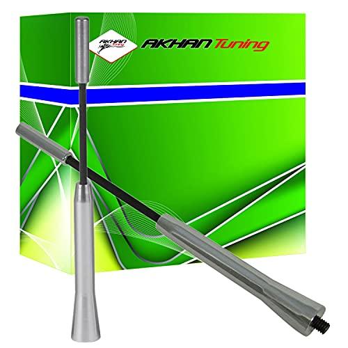 ANTC165 - Décoratifs antenne Chrome ALU Conception Antenne Antenne voiture auto DUMMY antenne de toit Universal (longueur: 168mm)