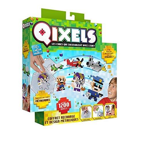Asmokids Qixels Design Metal Refills Kit Arts and Crafts – Boys Game