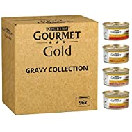 Variety Gourmet Wet Cat Food Jumbo Pack 96 X 85g For Adult Cats In Tender Chunks In Gravy Collection...