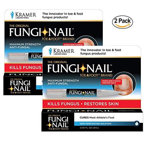 Fungi Nail Pen Applicator Anti Fungal Solution 0.101 OZ (Pack of 2)