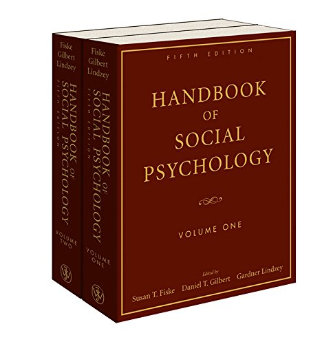 Handbook of Social Psychology (2 Volume Set)