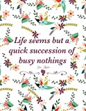 Daily Success Planner: Undated Daily Agenda Jane Austen 'Life Seems But A Quick Succession of Busy Nothings' Planner 90 Day Plan |To- List| Organizer| ... Plan| Fitness Goals | Inspirational Quotes