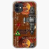 Serenity Firefly Pure Clear Cajas del Teléfono iPhone 12/11 Pro MAX 12 Mini SE X/XS MAX XR 8 7 6 6s Plus Funda
