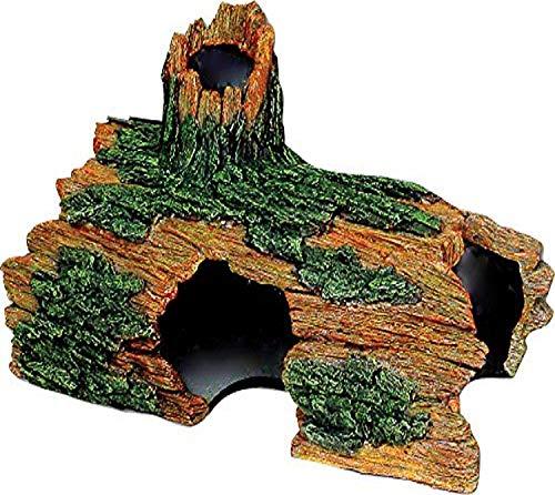 Exotic Environments Hollow Log Aquarium Ornament