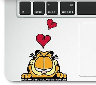 ملصق ملصق لوحة التتبع للكمبيوتر المحمول القط اللطيف