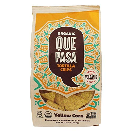 Organic Food Que Pasa Organic Corn Tortilla Chips