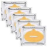 20 Piezas Mascarillas de Labios, Lip Mask Mascarillas Colágenas de Labios...