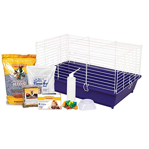 Ware Manufacturing Home Sweet Home Sunseed Rabbit Cage Starter Kit