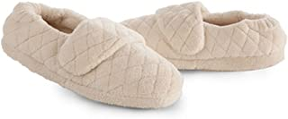 Women's Spa Wrap Slippers Natural M