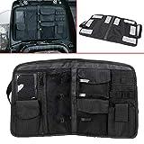 XMMT Motorcycle Black Trunk Lid Organizer Storage Bag for Indian Chieftain Roadmaster Dark Horse/Elite