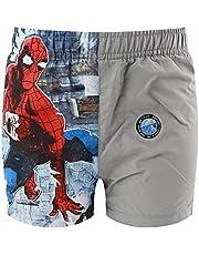 Characters Cartoons Spiderman Marvel Avengers – Bañador para niño – Pantalón de baño, calzoncillos tipo bóxer, parisés, playa, piscina, primavera y verano – Licencia oficial