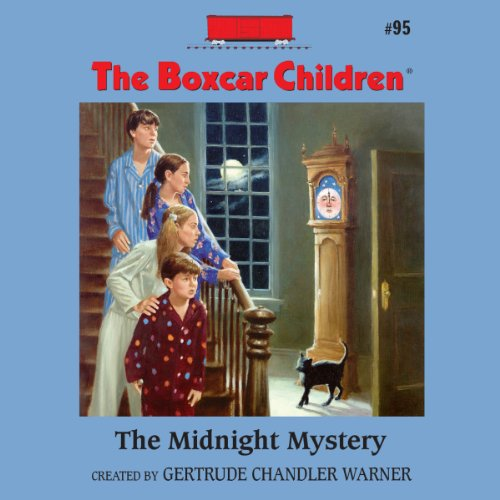 The Midnight Mystery audiobook cover art
