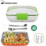 Zeerkeer Lunch Box Elettrico Portatile Scatole Bento Food Box,Riscaldamento...