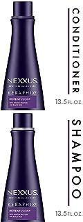 Nexxus Keraphix Conditioner, for Damaged Hair, 13.5 oz andNexxus Keraphix Shampoo, for Damaged Hair, 13.5 oz