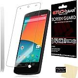 TECHGEAR [3 Pack] Protection d'Écran pour LG Google Nexus 5, Film de Protection Ultra Clair avec...