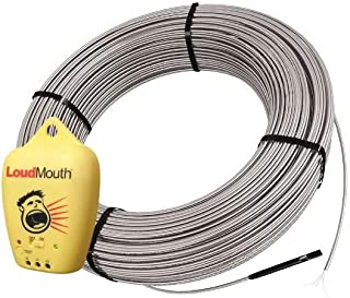 Schluter Ditra Heat Radiant Floor Heating Cable with Electrical Fault Indicator - 113 Square Feet 120 Volt