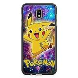 Coque pour Samsung Galaxy J3 2017 (Version J330) Pokemon go Team Pokedex Pikachu Manga Tortank Game...