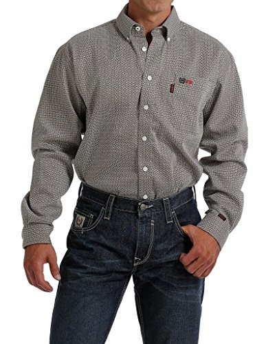 Cinch Men's Fr WRX Long Sleeve Work Shirt Tan X-Large