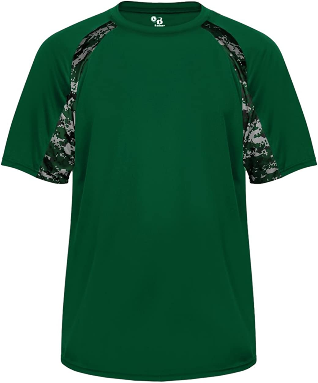 Badger Sport Forrest OFFicial mail Ranking TOP20 order Green Digi-Camo Sleeve Youth Short Large
