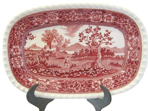Villeroy & Boch: Rusticana rot - Platte oval - ca. 36 cm lang