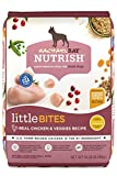 Rachael Ray Nutrish Little Bites Small Breed Premium Natural Dry Dog Food, Real Chicken & Veggies Recipe, 14 Pounds