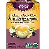 Yogi Tea - Blackberry Apple Cider Digestive Awakening (4 Pack) - Supports Healthy Digestion - 64 Tea...
