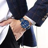 NIBOSI Chronograph Men's Watch (Blue Dial)