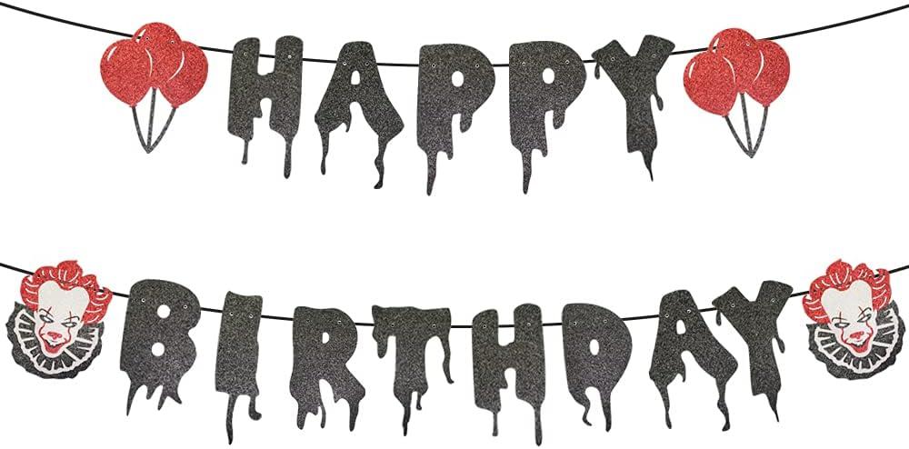Have a Killer Birthday Banner, Horror Movie Penny Theme wise Bir